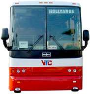 front of Valley Transit bus