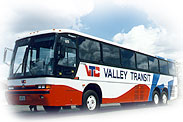 side of Valley Transit bus